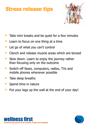 Stress-release-tips